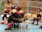 roller derby, apan satt i granen, roller derby i Sverige